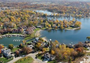 Aerial of Prior Lake