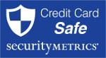 Credit card security logo